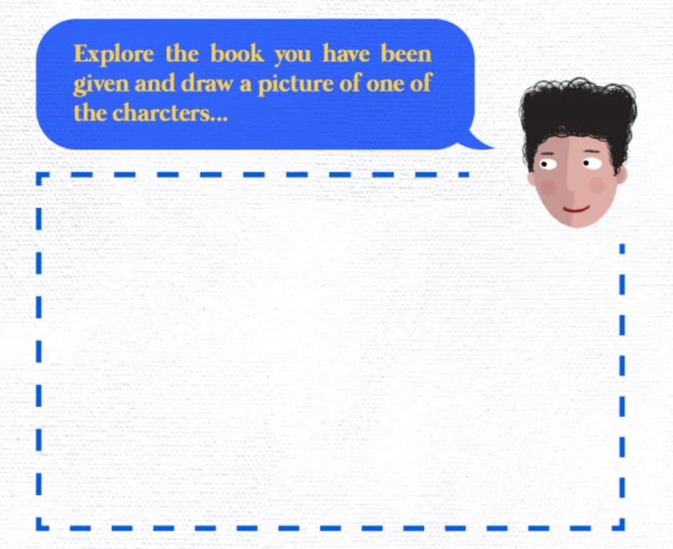A page in one of our reading activities packs