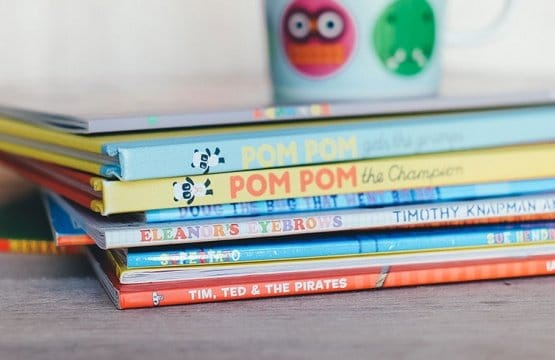 Authors back book campaign to improve children's literacy